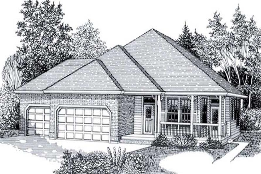 Main image for house plan # 11852