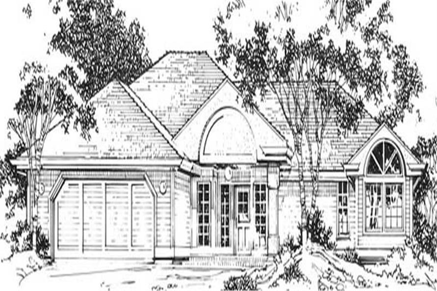 Main image for house plan # 11854