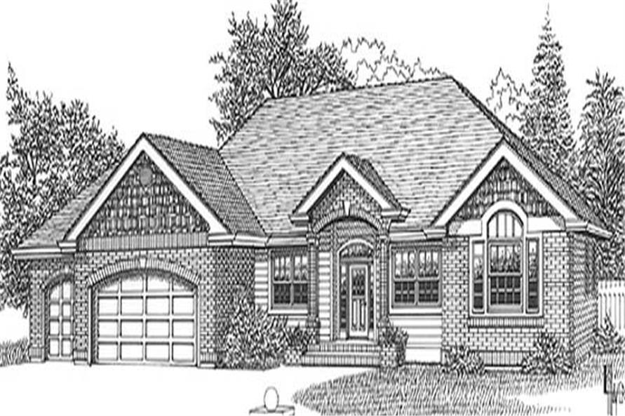 Main image for house plan # 11859
