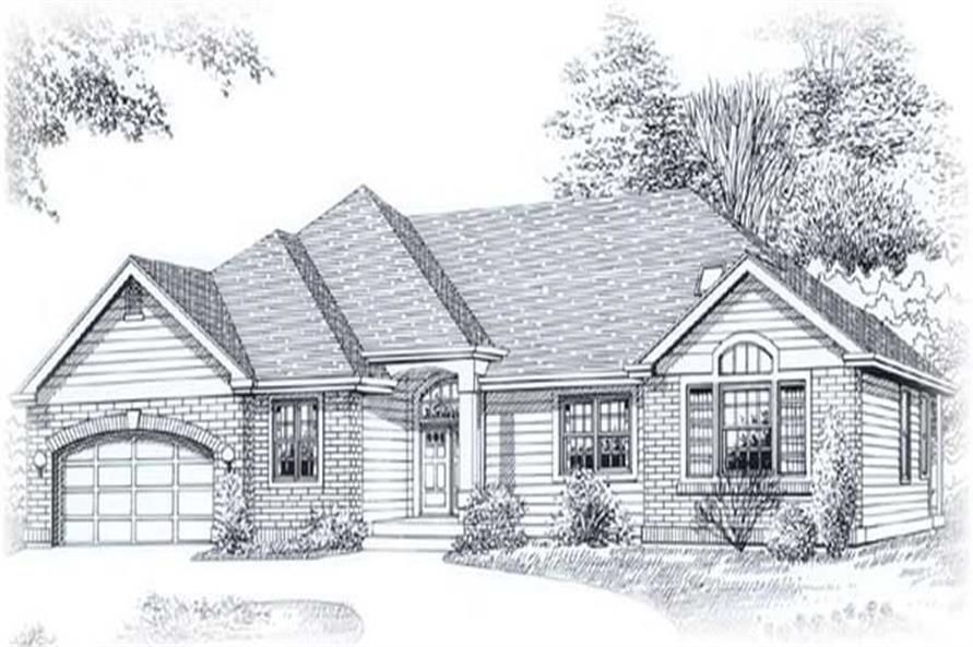 Main image for house plan # 11860