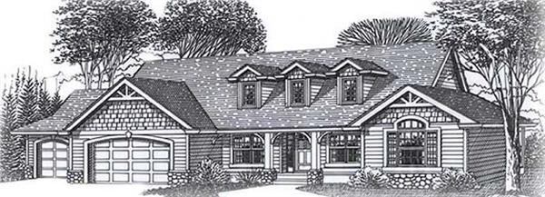 Main image for house plan # 11862