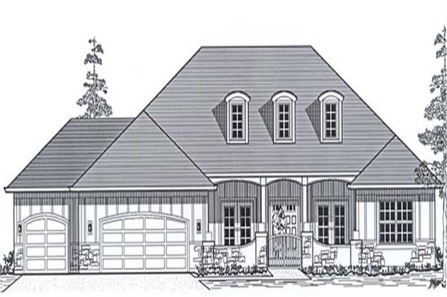 Main image for house plan # 11863
