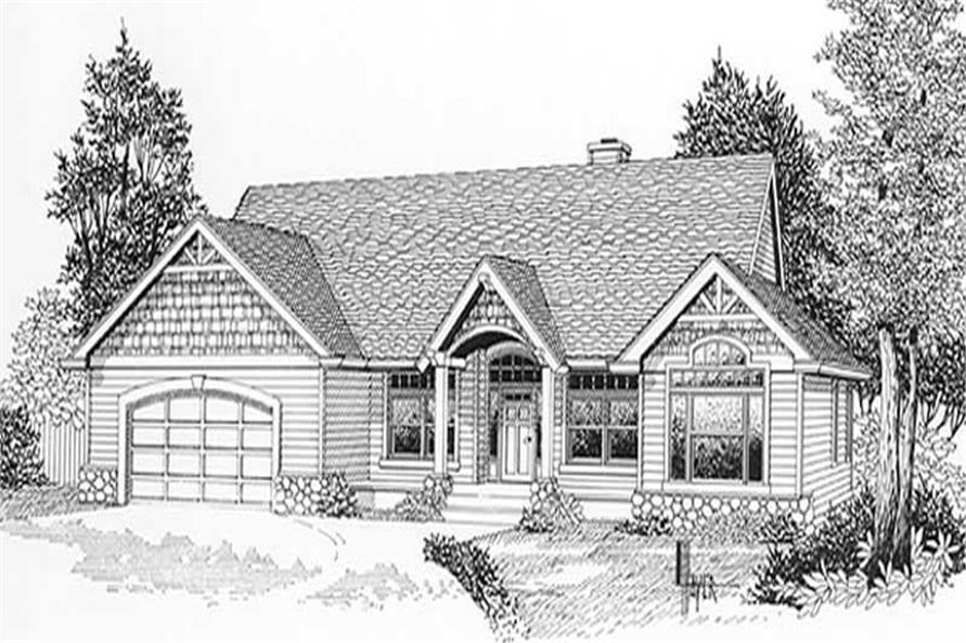 Main image for house plan # 11886