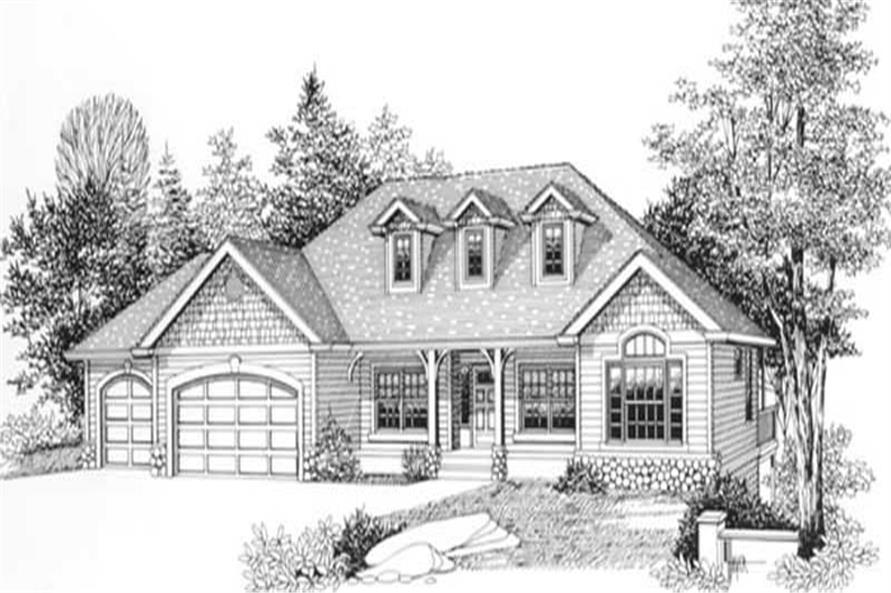 Main image for house plan # 11887