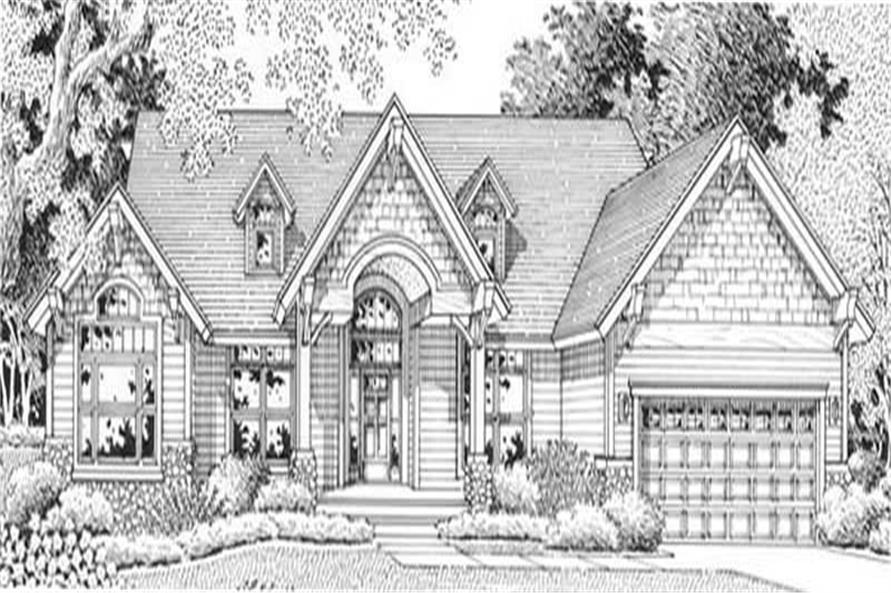 Main image for house plan # 11888