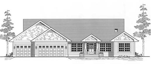 Main image for house plan # 11890