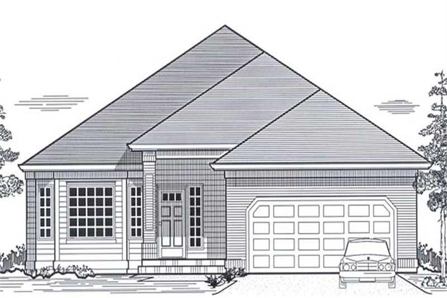 Main image for house plan # 11841