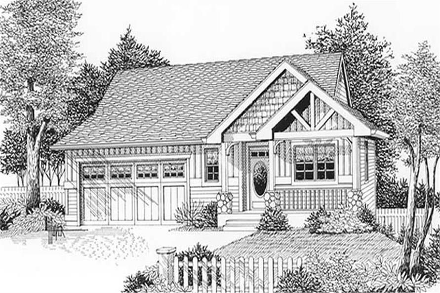Main image for house plan # 11909