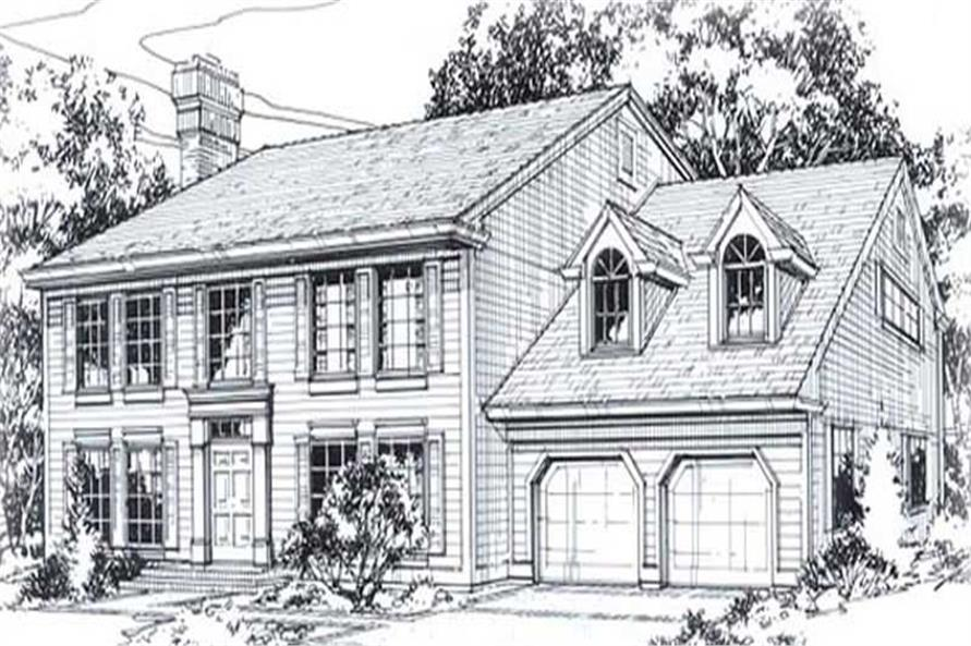 Main image for house plan # 11834