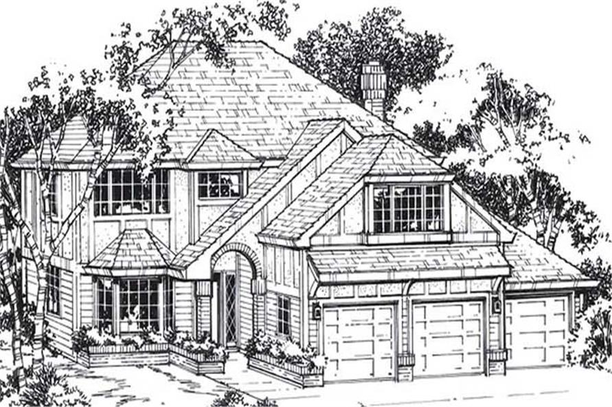 Main image for house plan # 11927