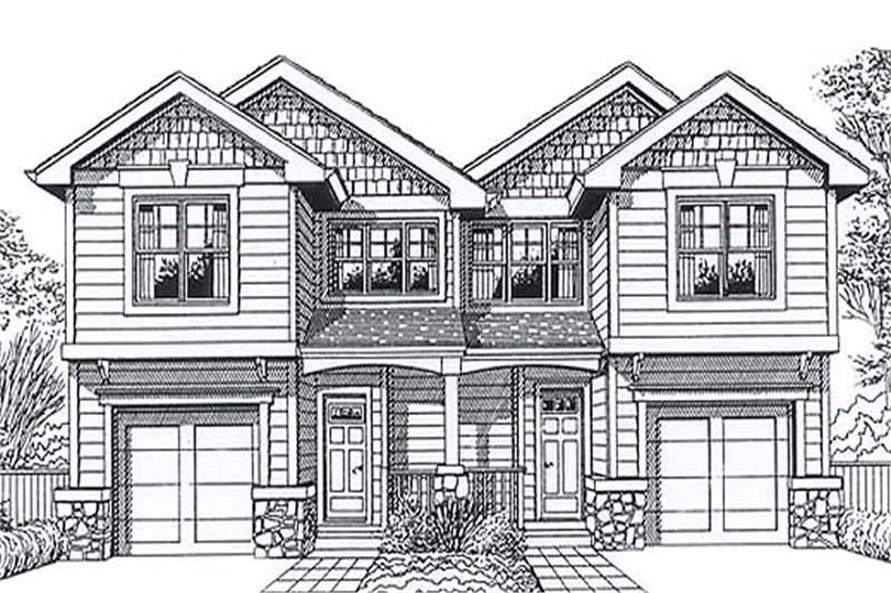 Main image for house plan # 11924