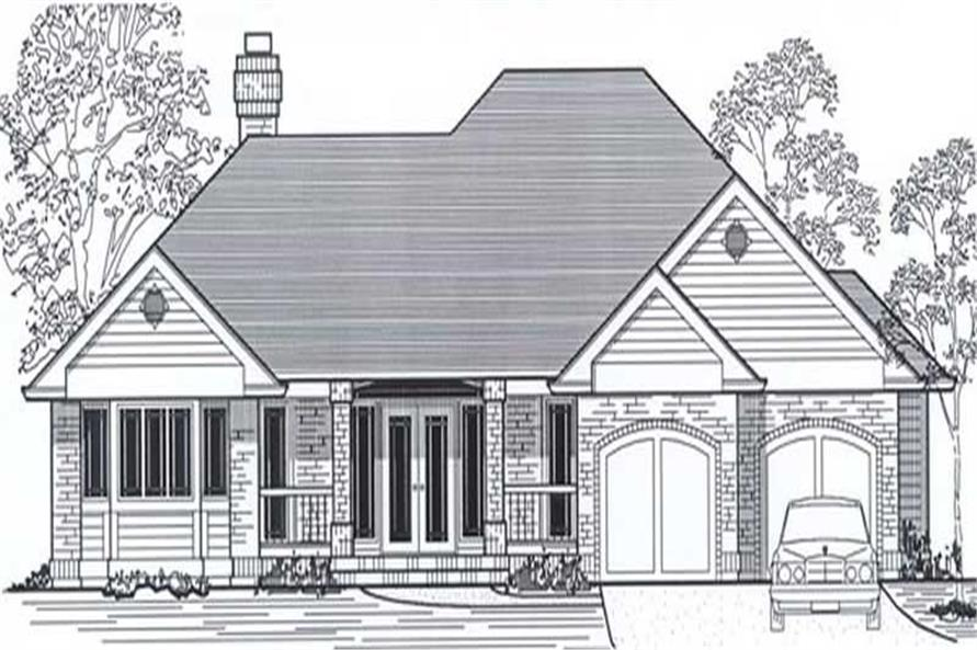 Main image for house plan # 11922
