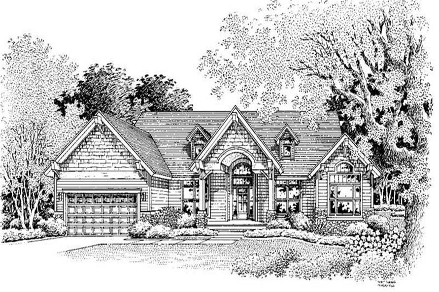 Main image for house plan # 11891