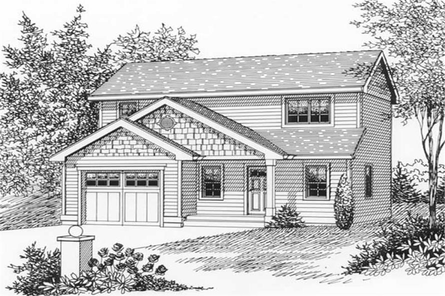Main image for house plan # 11919