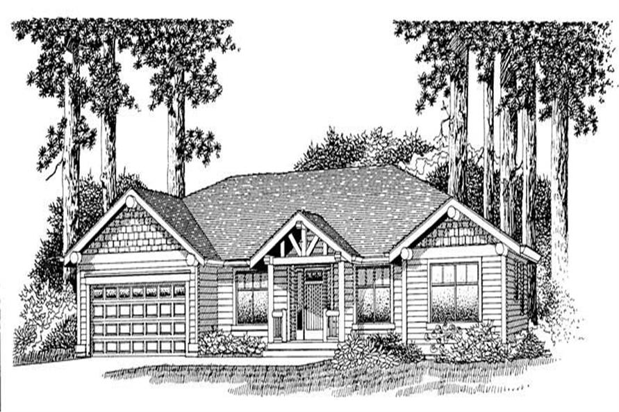 Main image for house plan # 11892