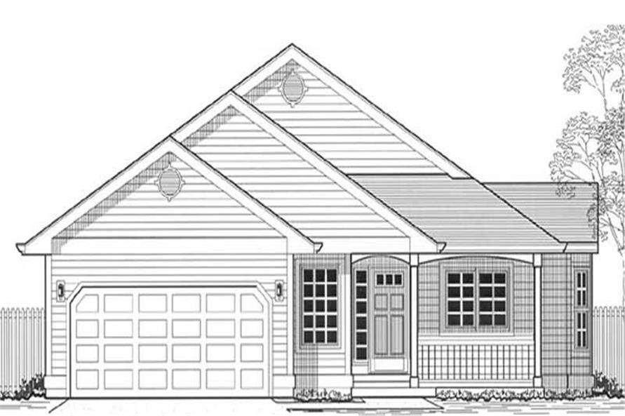 Main image for house plan # 11902