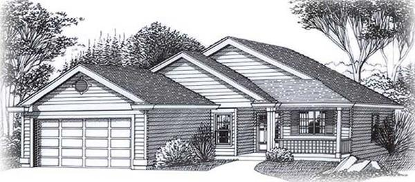 Main image for house plan # 11901