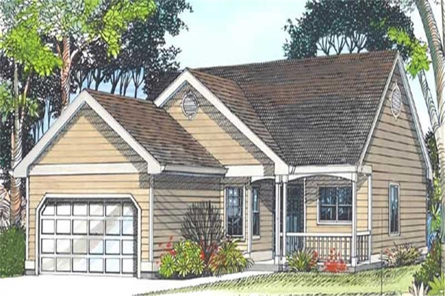 Main image for house plan # 11899