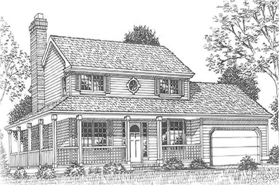 Main image for house plan # 11898