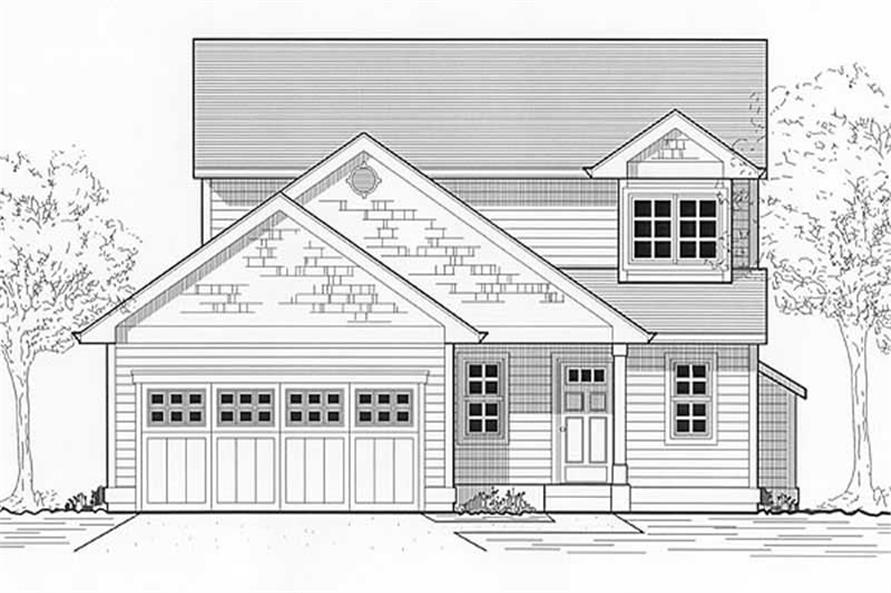 Main image for house plan # 11920