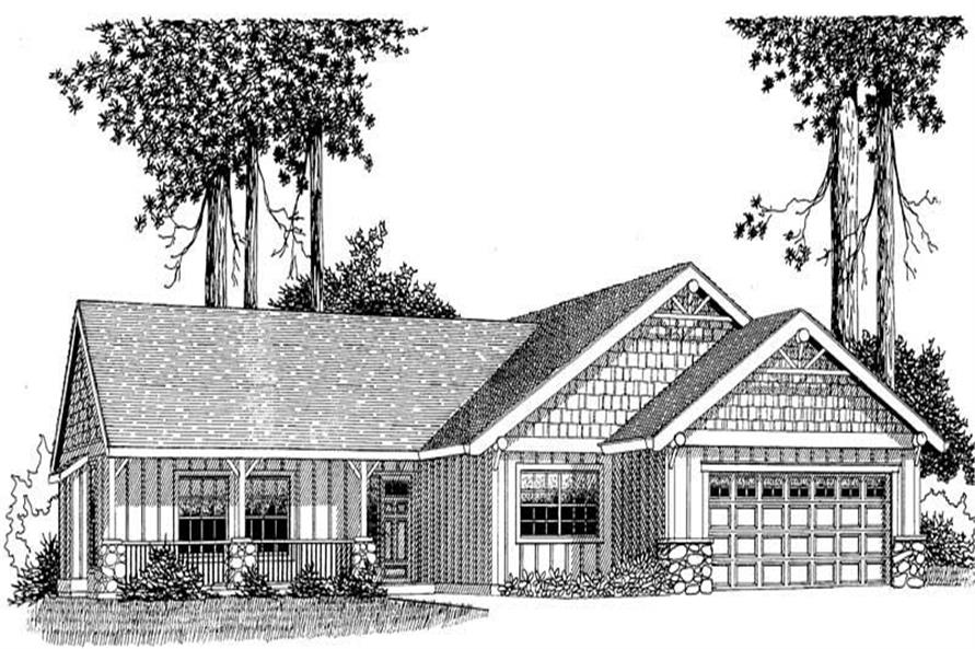 Main image for house plan # 11812