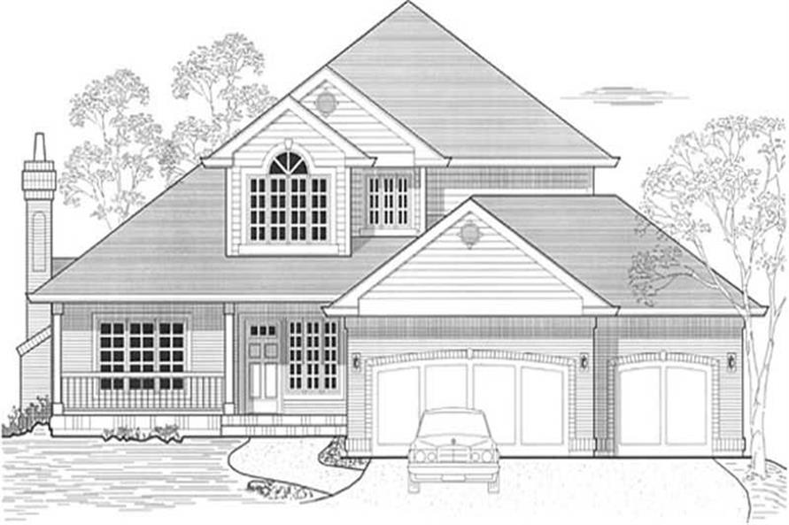 Main image for house plan # 11825