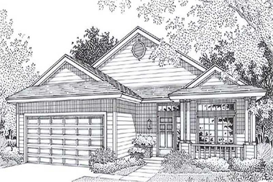 Main image for house plan # 11823