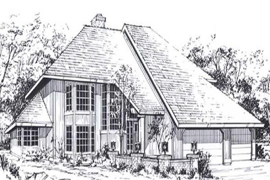 Main image for house plan # 11818
