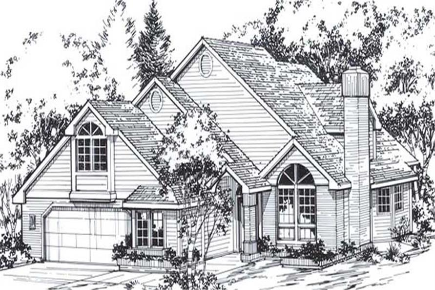 Main image for house plan # 11813