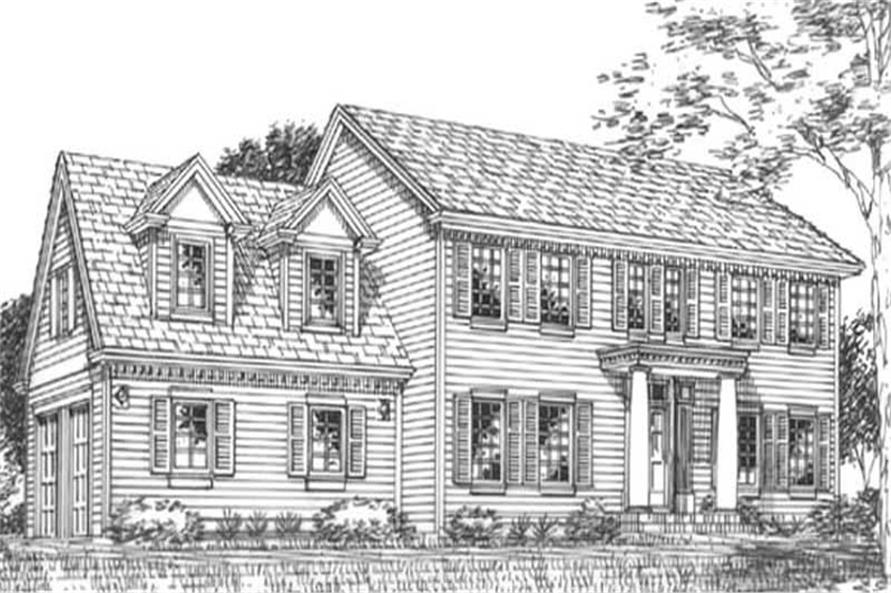 Main image for house plan # 11833