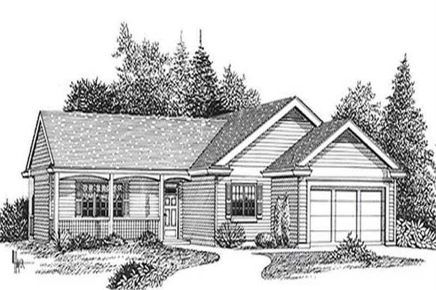 Main image for house plan # 11811