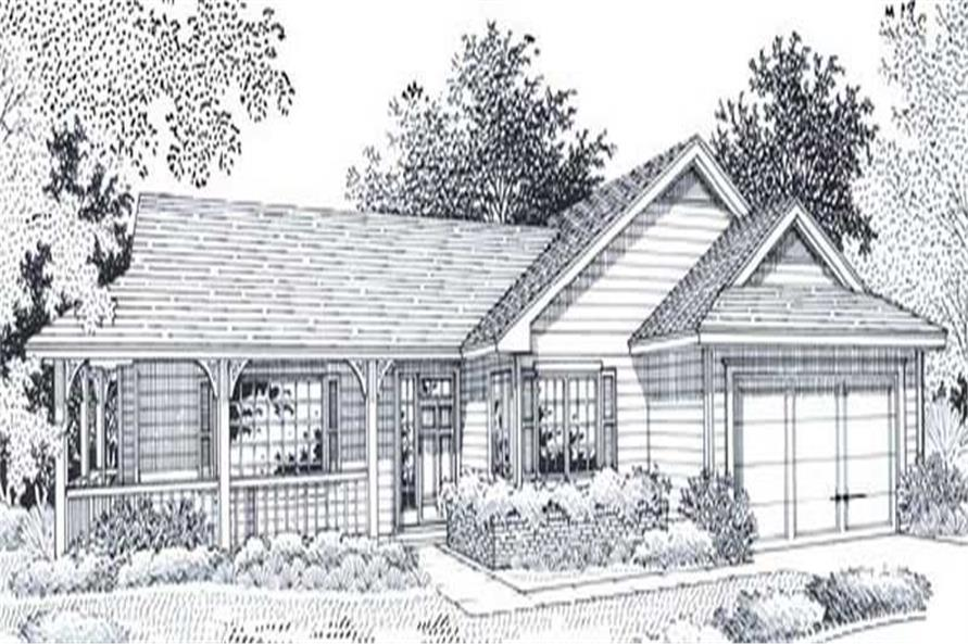 Main image for house plan # 11810