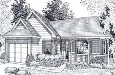 Main image for house plan # 11809