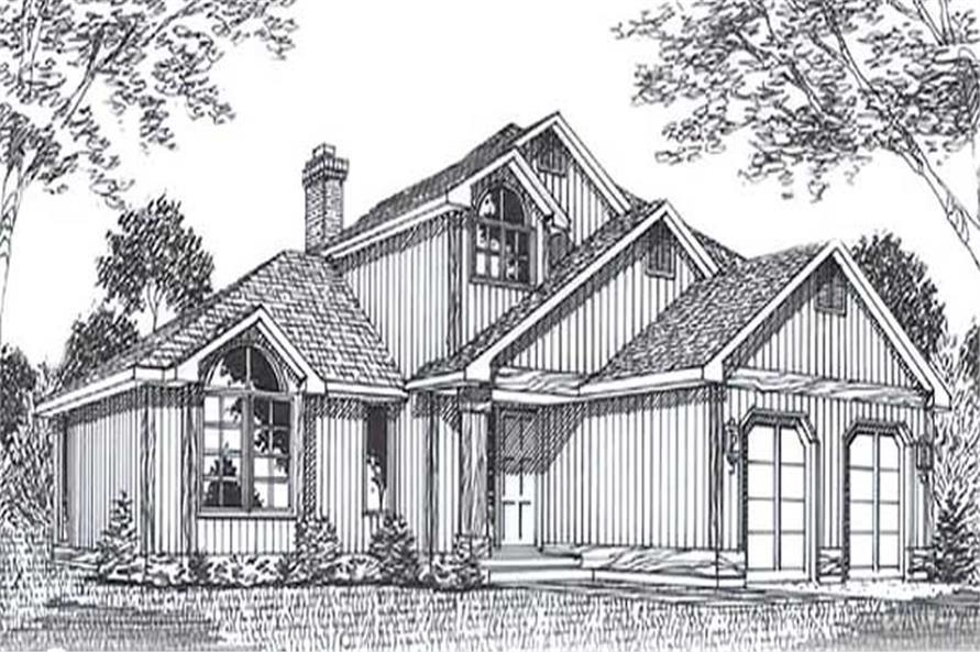 Main image for house plan # 11808