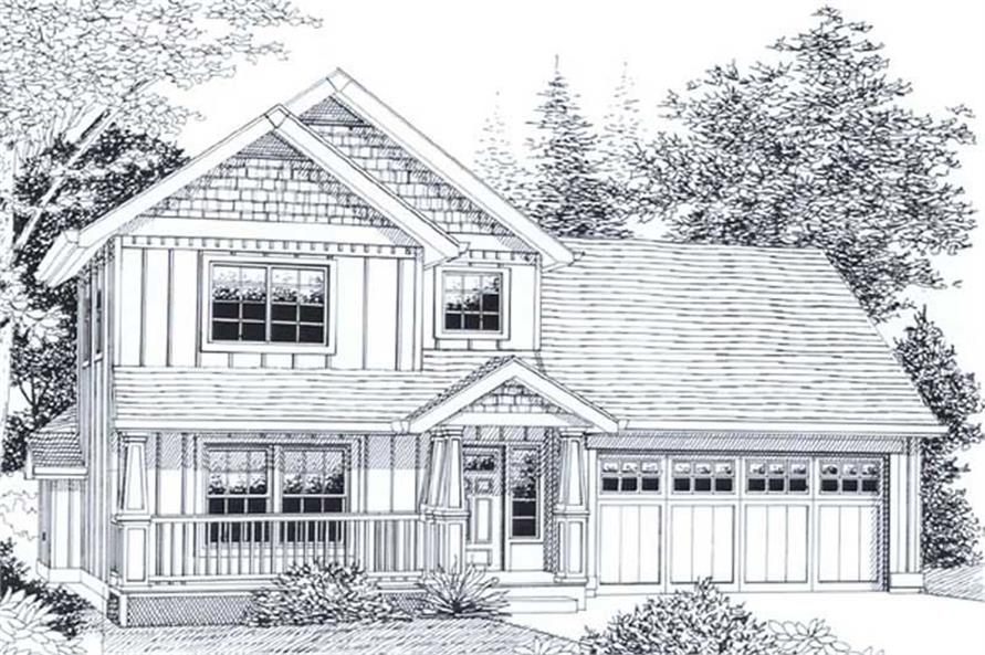 Main image for house plan # 11814