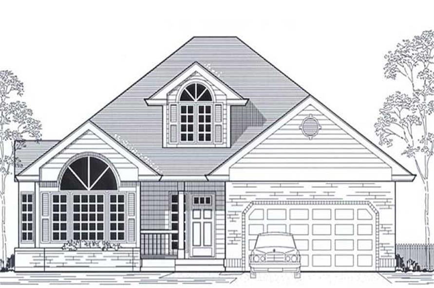 Main image for house plan # 11822