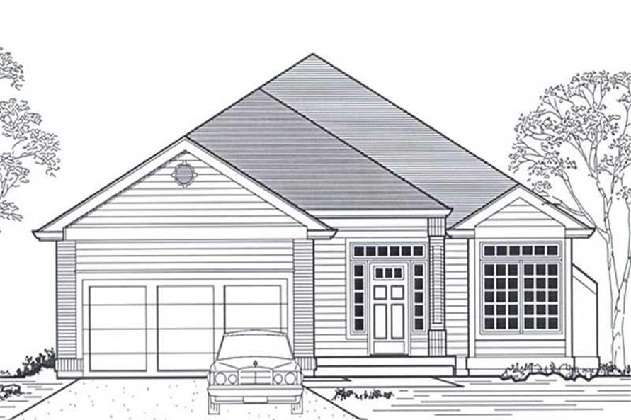 Main image for house plan # 11837