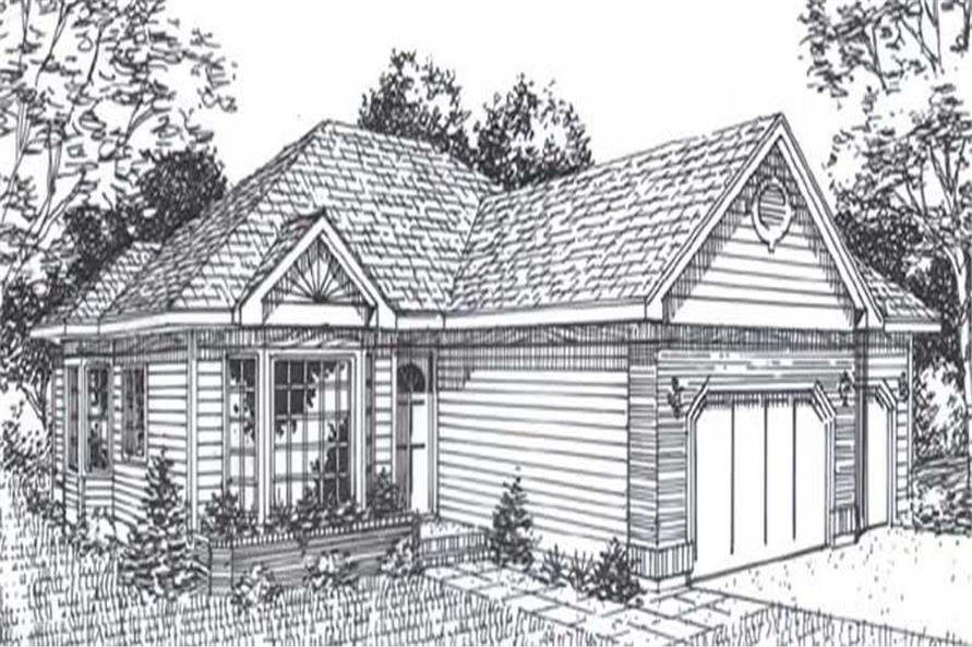 Main image for house plan # 11831