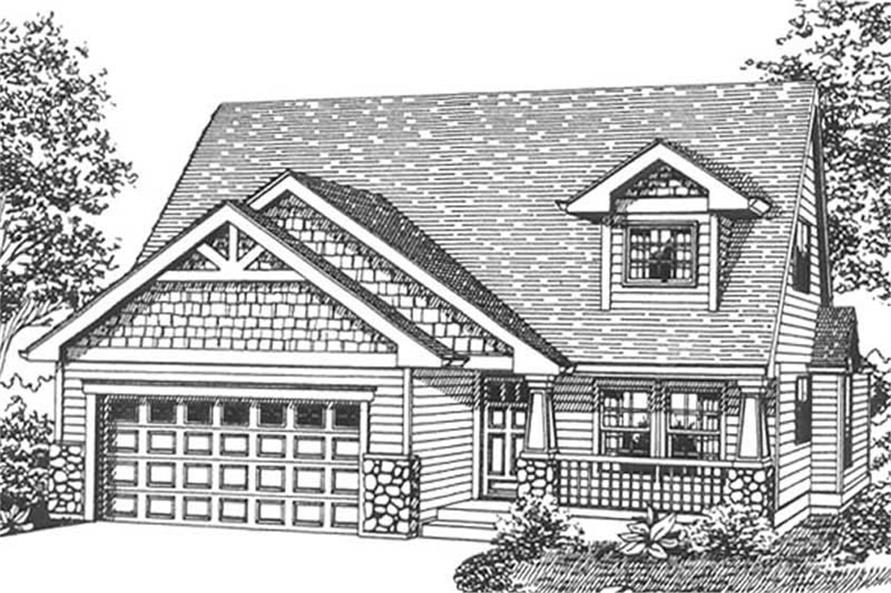 Main image for house plan # 11828