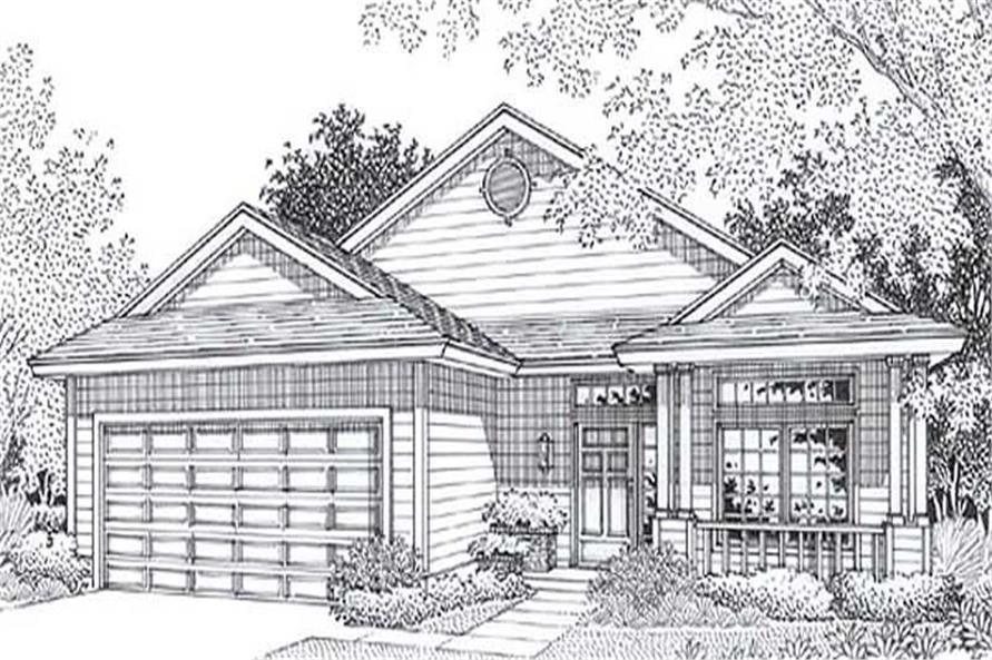 Main image for house plan # 11824