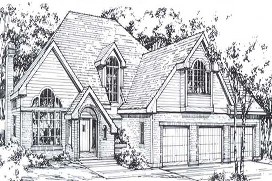 Main image for house plan # 11819