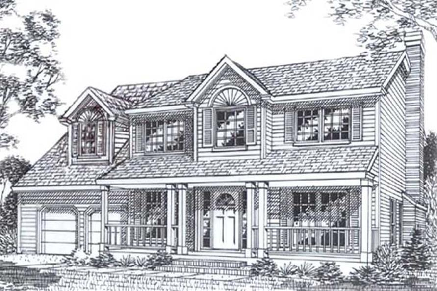 Main image for house plan # 11807