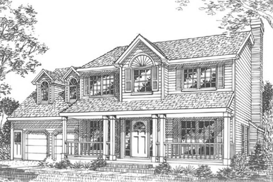 Main image for house plan # 11805
