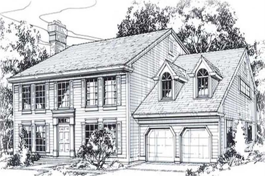 Main image for house plan # 11835