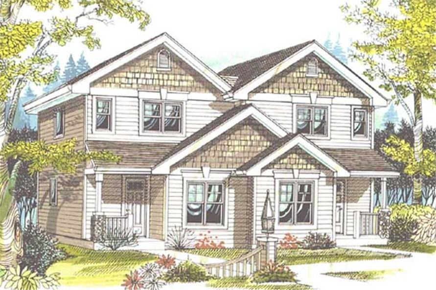 Main image for house plan # 11827