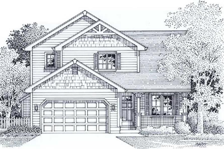 Main image for house plan # 12033