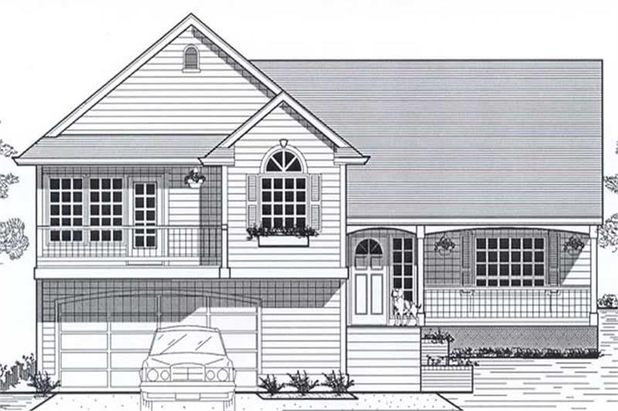 Main image for house plan # 12015