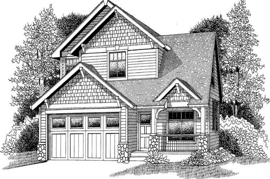Main image for house plan # 12047