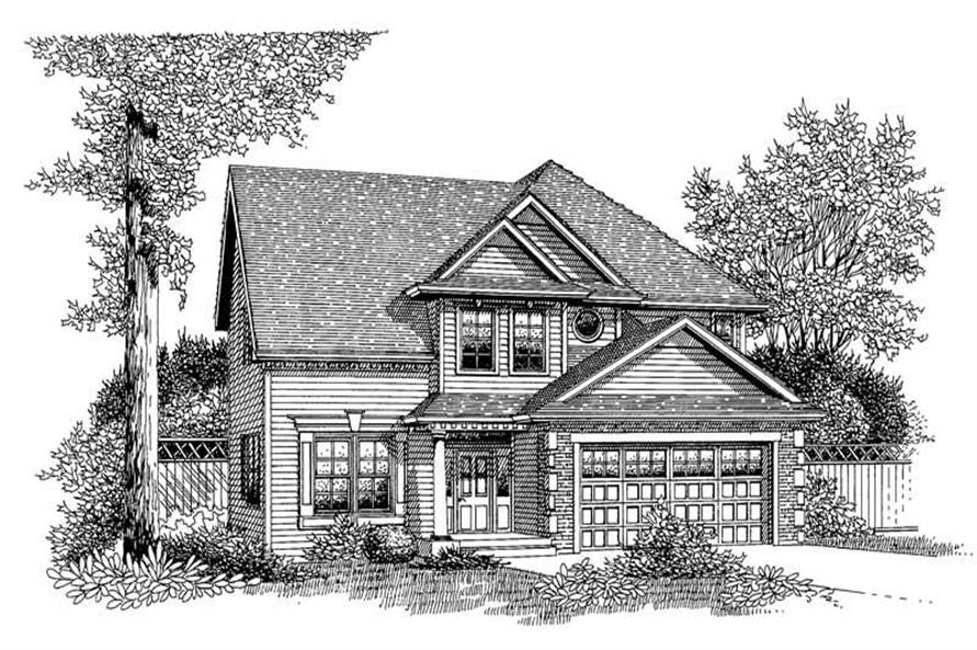 Main image for house plan # 12045