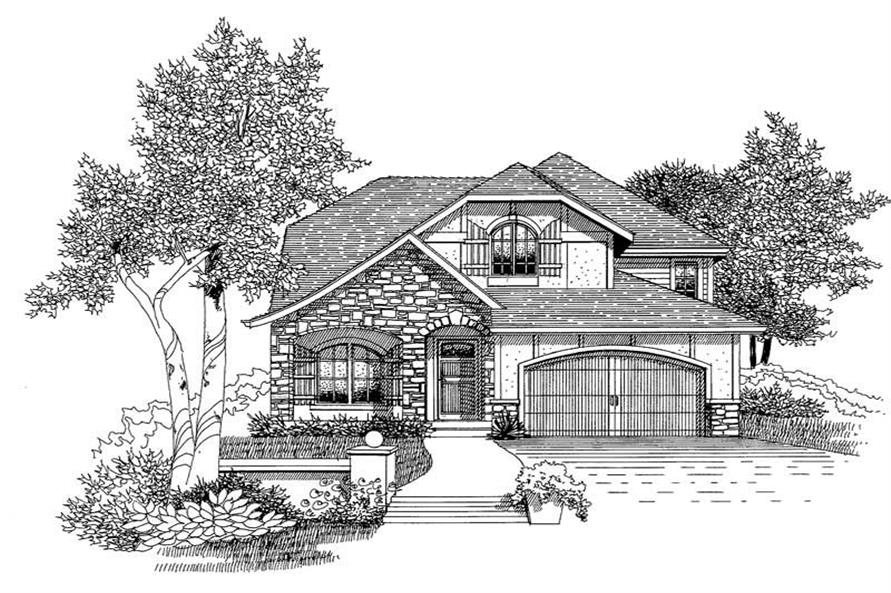 Main image for house plan # 12044